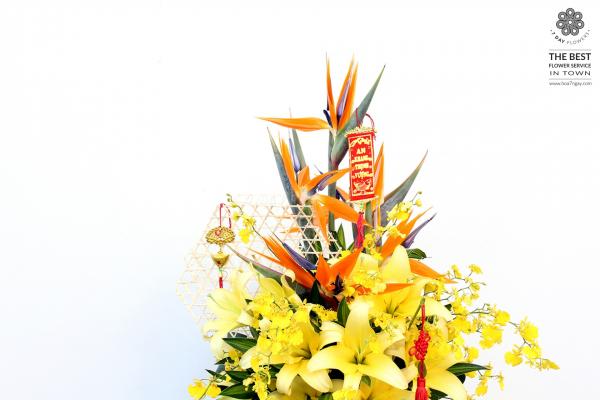 Hoa ly đẹp cho ngày tết thêm hương sắc- Hoa tết- Hoa 7 Ngày