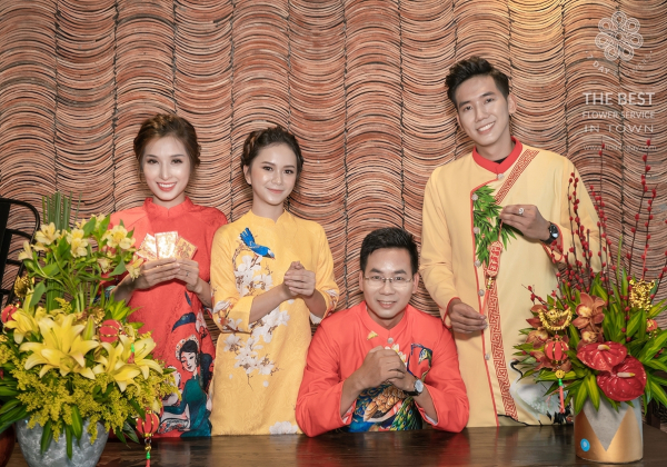 Xuân Kỷ Hợi 2019 - Lời chúc tết từ Hoa 7 Ngày