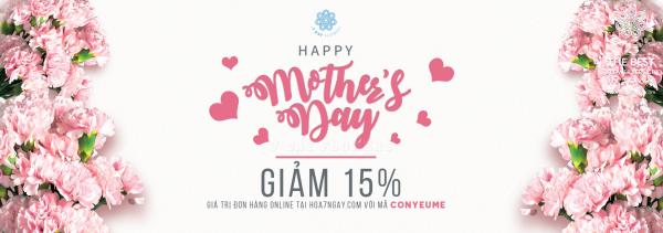 Chúc mừng Ngày Của Mẹ - Giảm 15%