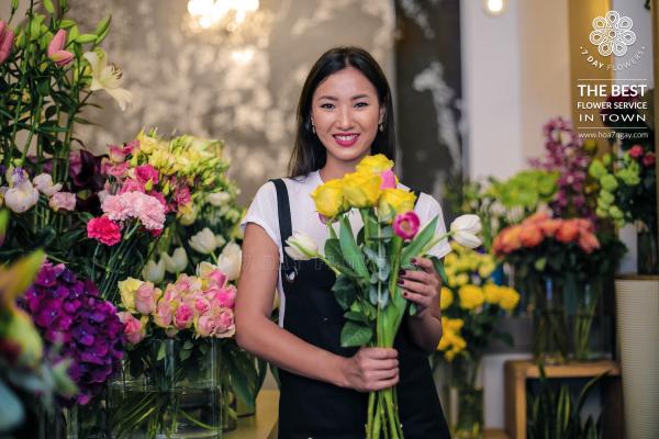 Những địa chỉ mua hoa uy tín tại TP.HCM