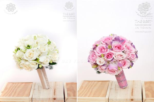 Chọn mua hoa cưới đẹp tp.hcm, không đâu ngoài Hoa 7 Ngày