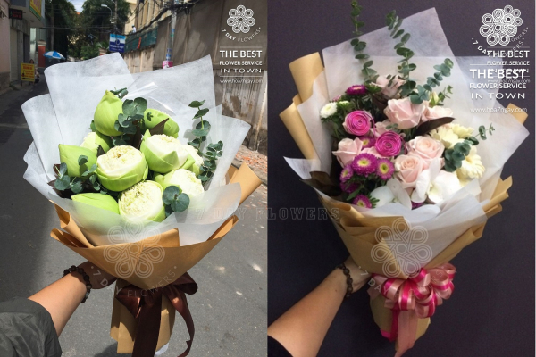 Đặt hoa online giao hoa miễn phí tp.hcm, Hoa 7 Ngày