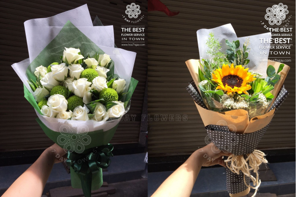 Mua hoa tặng bạn tp.HCM, Hoa 7 Ngày