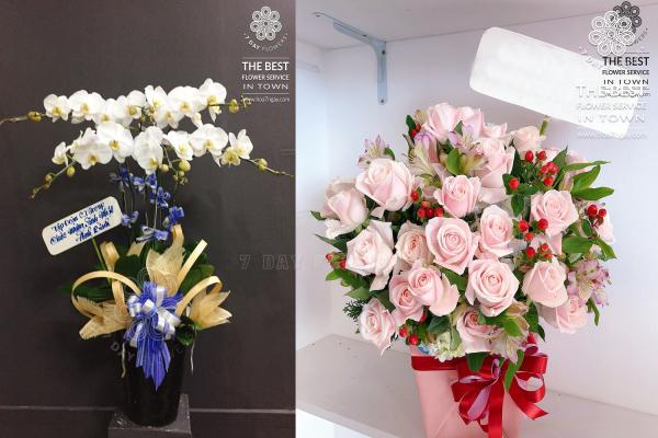 Mua hoa sinh nhật tặng người yêu tp.hcm, Hoa 7 Ngày