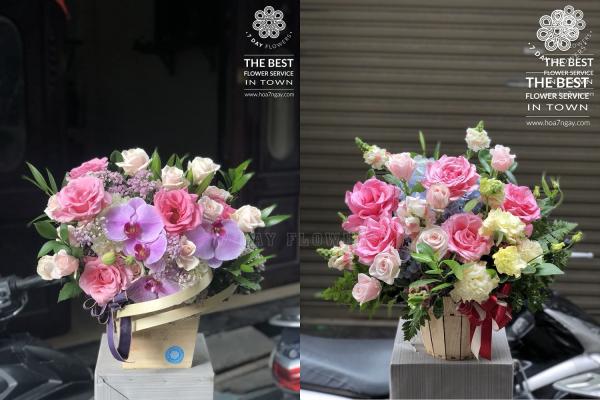 Mua hoa tươi văn phòng giá rẻ tp.hcm chọn đâu ngoài Hoa 7 Ngày