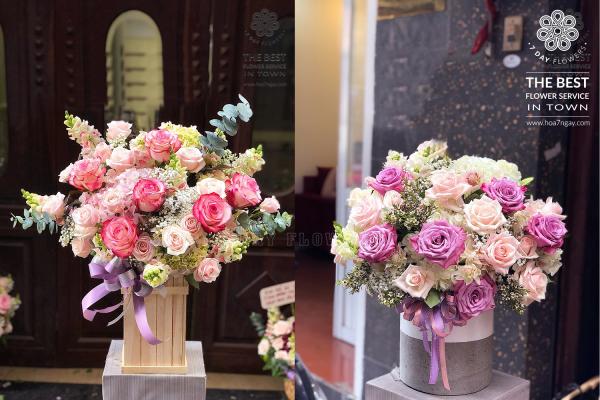 Mách bạn cách mua hoa văn phòng hợp phong thuỷ, Hoa 7 Ngày