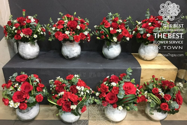 Mẹo chọn hoa hồng đơn giản và đẹp với Hoa 7 Ngày
