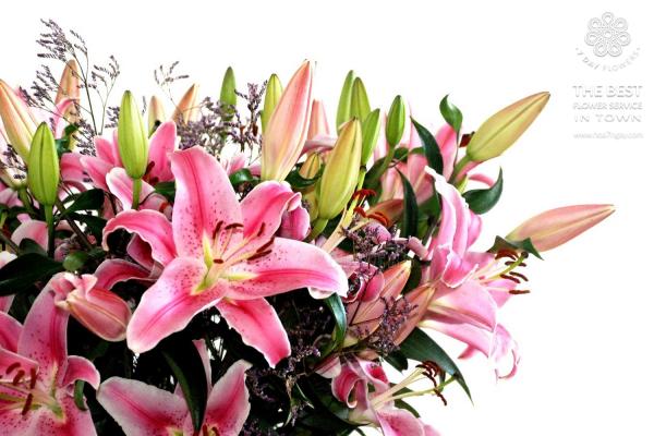 Mẹo chọn hoa ly đơn giản và đẹp tp.hcm, Hoa 7 Ngày