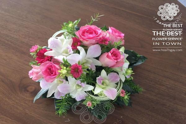 Shop hoa online quận Tân Bình chất lượng, đẹp, giá rẻ TP.HCM- Hoa 7 Ngày