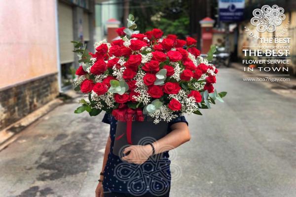 Shop hoa online quận 6| Chất lượng, đẹp, giá rẻ TP.HCM- Hoa 7 Ngày