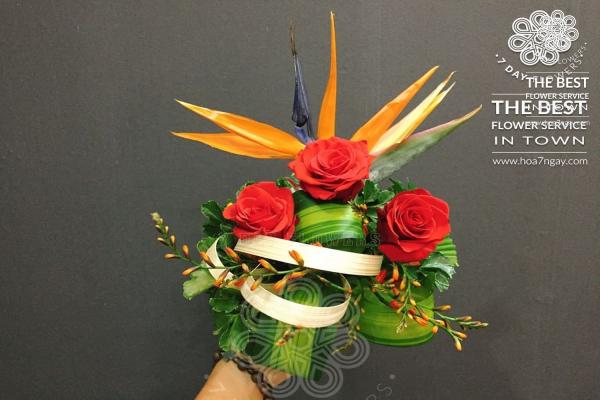 Shop hoa online quận 12 chất lượng, đẹp, giá rẻ TP.HCM- Hoa 7 Ngày