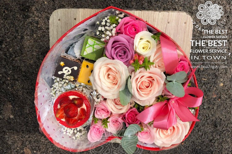 Nơi nào cung cấp hoa nhập đẹp - Hoa 7 Ngày
