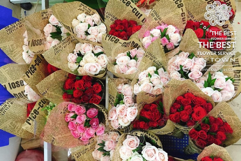 Giao hoa đúng giờ và nhanh chóng - Hoa 7 Ngày