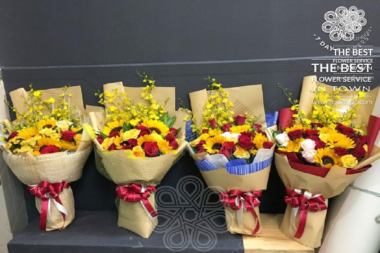 Hoa tặng 20/10 đẹp và chất lượng - Hoa 7 Ngày