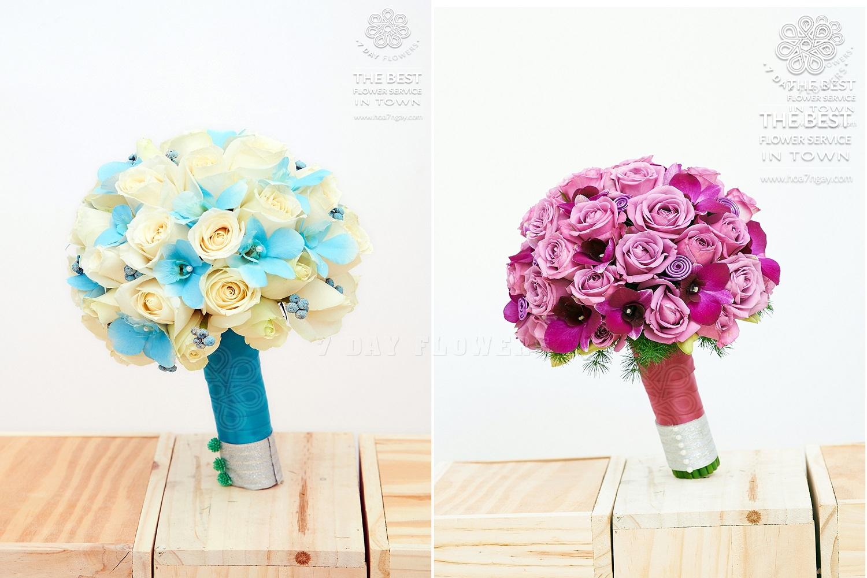Ngày trọng đại, mua hoa cưới đẹp ở đâu? Hoa 7 Ngày