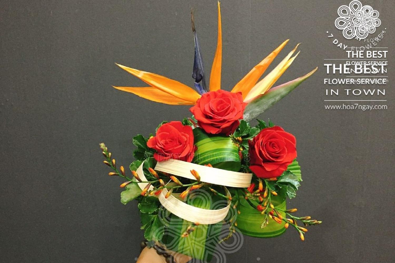 Hoa 7 Ngày có giao hoa tận nhà tp.HCM?
