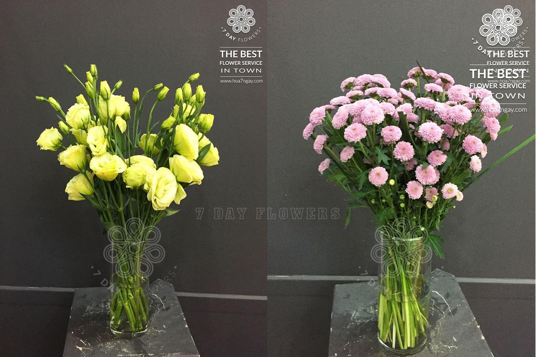 Làm hoa theo yêu cầu tp.hcm - Hoa 7 Ngày