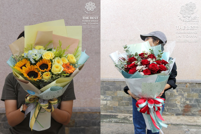 Mua hoa theo yêu cầu tp.hcm chọn Hoa 7 Ngày