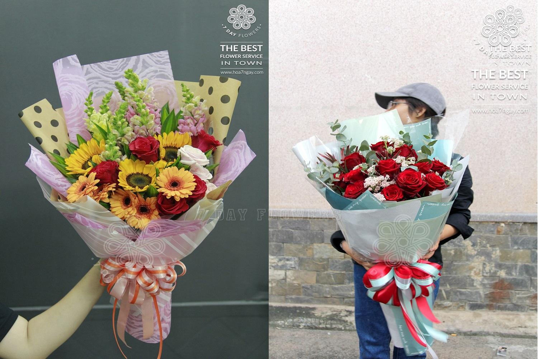 Mua hoa tươi rẻ đẹp giá từ 100.000đ, Hoa 7 Ngày