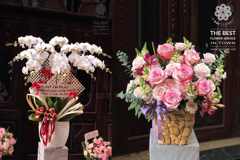 Làm sao đặt hoa tươi online đẹp tp.hcm, Hoa 7 Ngày
