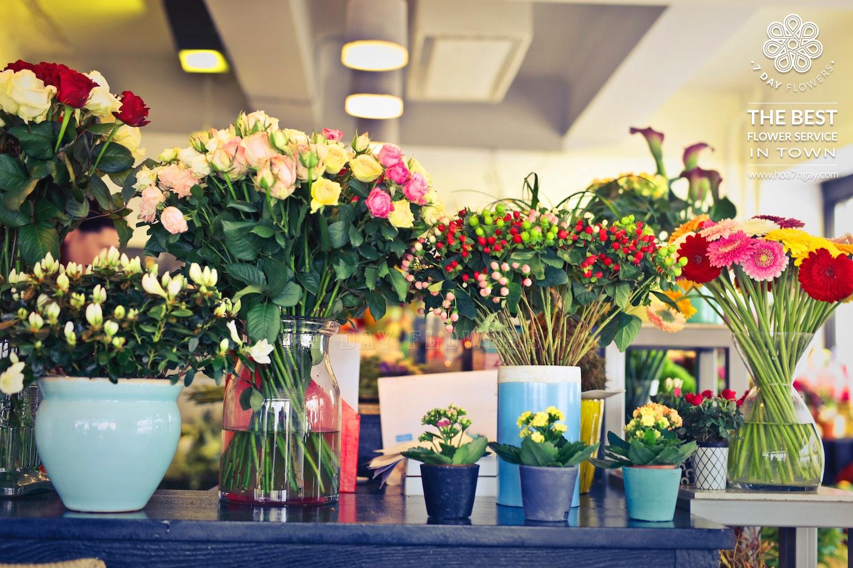 Shop hoa online chất lượng, đẹp, giá rẻ TP.HCM- Hoa 7 Ngày