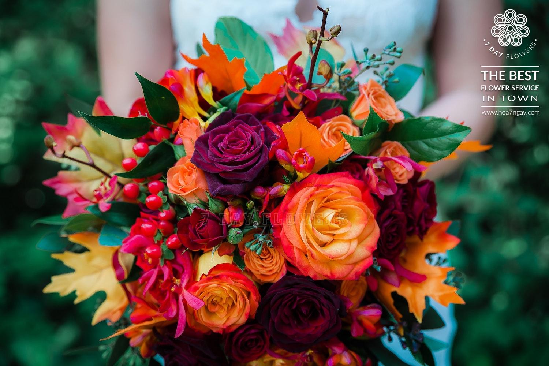 Shop hoa online quận 5| Mẫu hoa đẹp TP.HCM- Hoa 7 Ngày