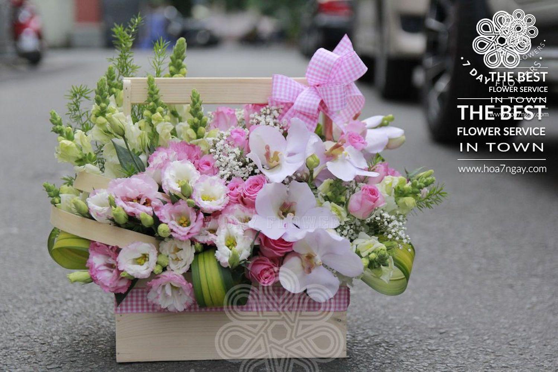 Shop hoa online quận Bình Tân chất lượng, đẹp, giá rẻ TP.HCM- Hoa 7 Ngày