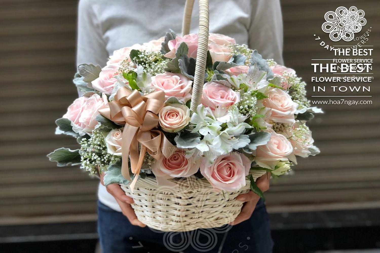 Shop hoa online quận Phú Nhuận chất lượng, đẹp, giá rẻ TP.HCM- Hoa 7 Ngày