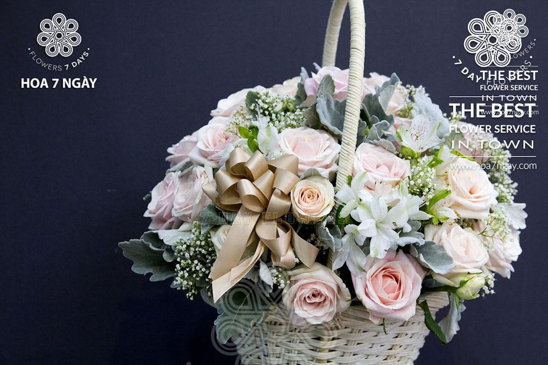 Shop hoa online quận 8 chất lượng, đẹp, giá rẻ TP.HCM- Hoa 7 Ngày
